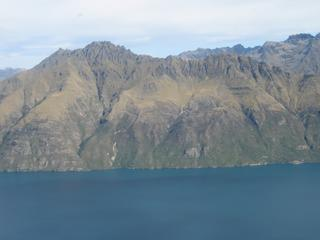 View to the west over Lake Wakatipu