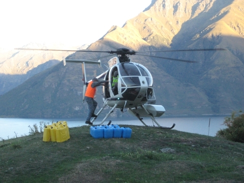 Loading and Re Fueling at the Remarkables